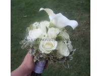 Svatební kytice Terezie...