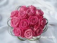 Svatební kytice Aqua...