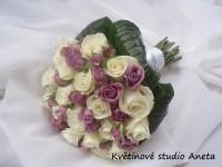 Svatební kytice Andrea...