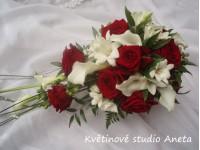 Svatební kytice Lenka převislá...