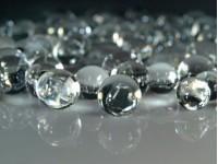Gelove (vodni) perly čiré...