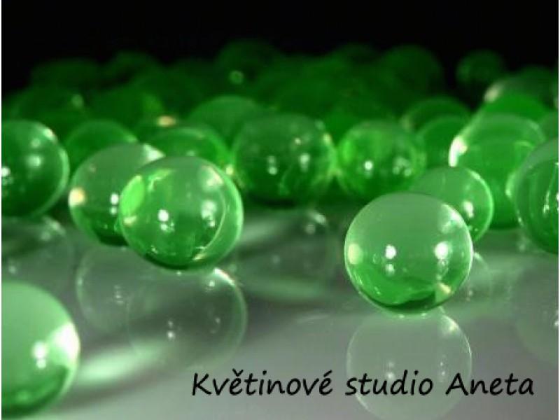 Gelové (vodni) perly zelené EKO