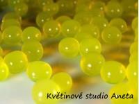 Gelove (vodni) perly žluté...
