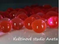 Gelove (vodni) perly červené...