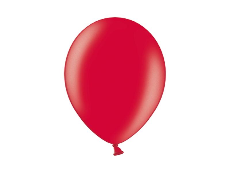 Balonek metalický červený