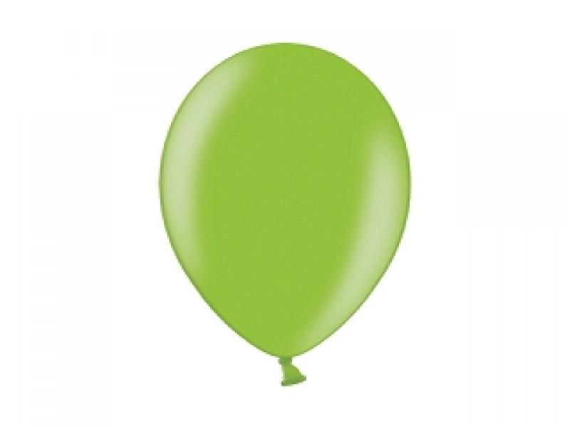 Balonek metalický zelený světlý