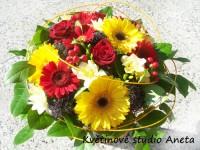 Dárková kytice Letní mix
