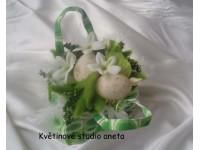 Velikonoční kabelka zelená