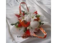 Velikonoční kabelka oranžová
