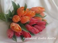 UK tulipán červený...