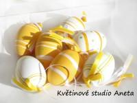 Sada vajíček 12ks oranžová...