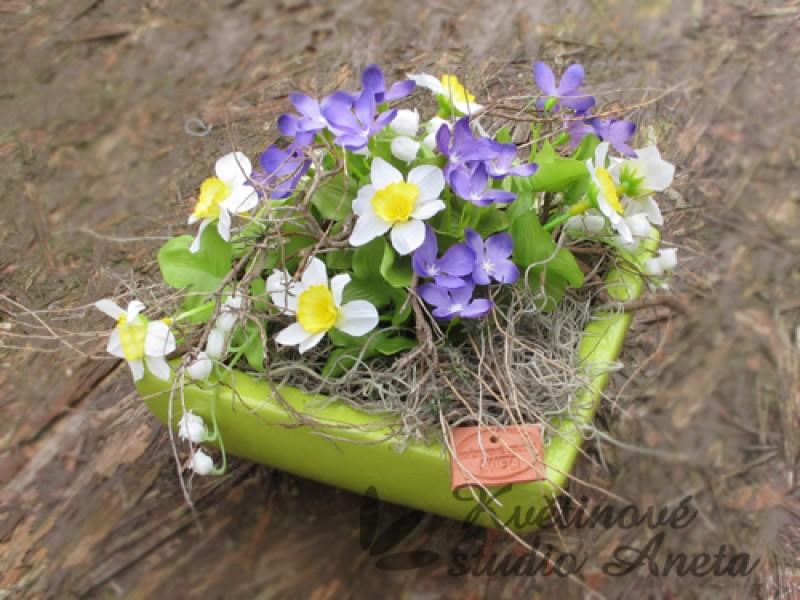 Jarní mísa zelená