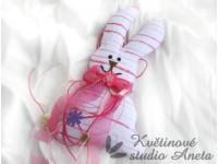 Velikonoční zajíček růžový...