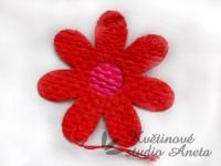 Květ z lýka červený...
