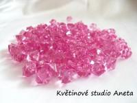 Ledové krystalky růžové EKO...