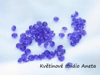 Diamantky fialové 4mm...