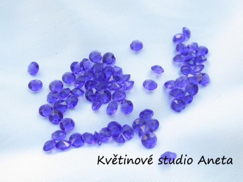 Diamantky fialové 4mm