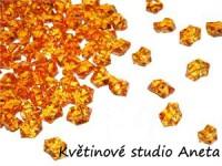 Ledové krystalky oranžové...
