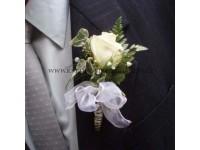 Korsáž pro ženicha, svědka......