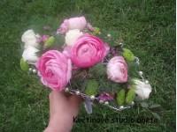 Svatební kytice Round Typ...