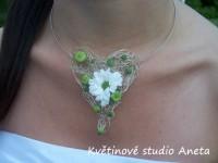 Svatební šperk - náhrdelník...