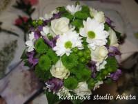 Svatební kytice alstromerie...