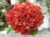 Svatební kytice tulipány...