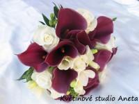 Svatební kytice Kamila...