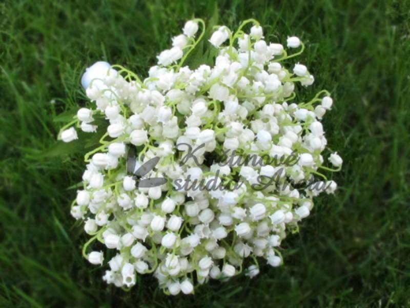 Svatební kytice z konvalinek