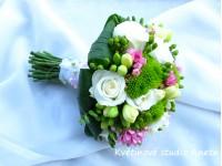 Svatební kytice Jitka...