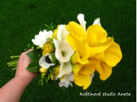 Svatební kytice Míša...