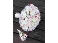 Romantic Flowers - svatební kytice a korsáž...