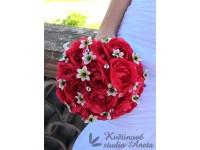 Brillant Flowers - svatební kytice z pryskřníků...