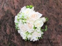 Svatební kytice zlatý mix...