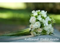 Svatební kytice Medůza...