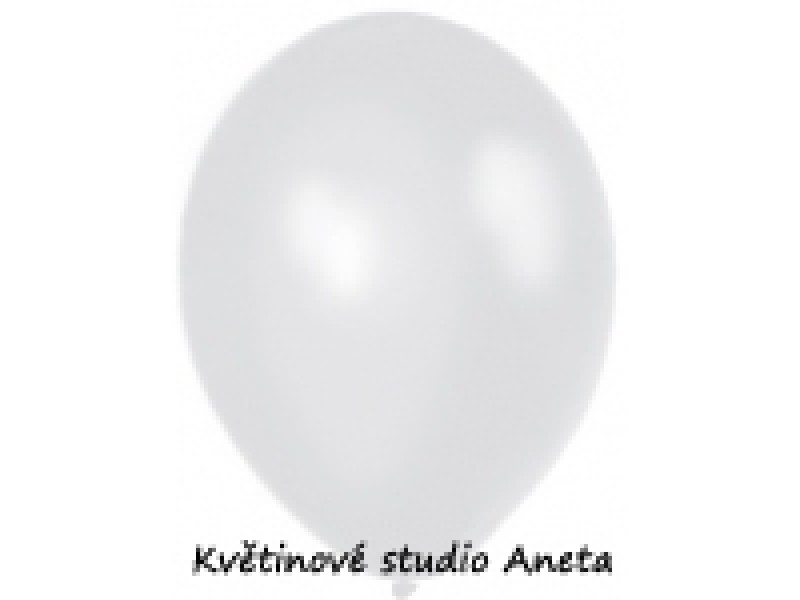 Balonek metalický stříbrný