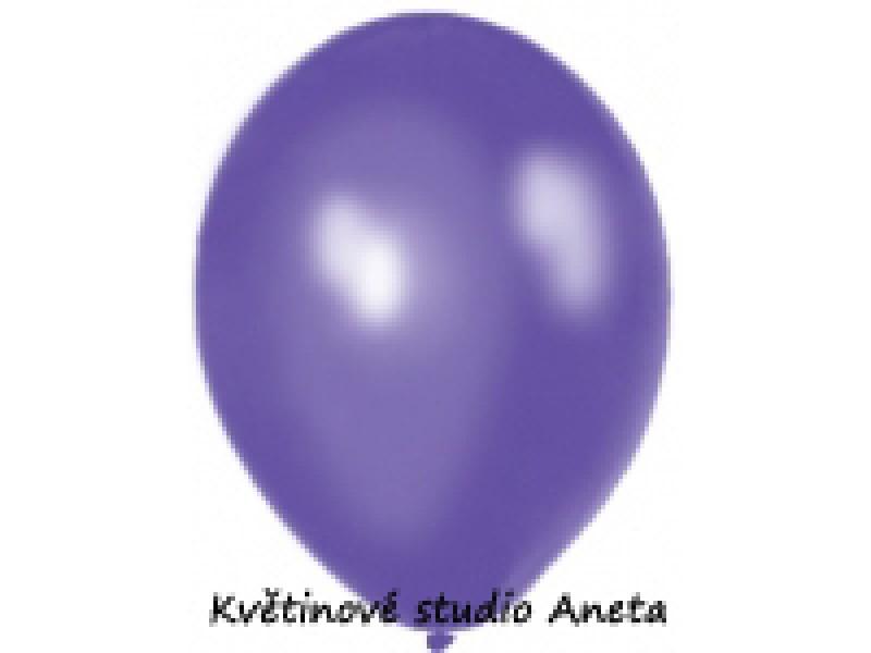 Balonek metalický fialový tmavý