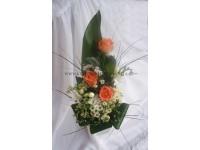 Svatební kytice k oltáři...
