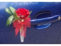 Dekorace na svatební vůz -přísavka na kliku ...