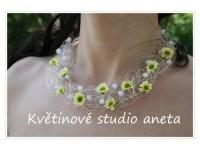 Květinový náhrdelník...