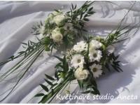 Svatební aranžmá na stůl...