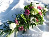 Dekorace na svatební tabuli...