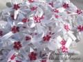 Mašličky s plastovou květinkou