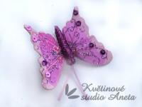 Motýlek růžový...