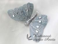 Motýlek šedý ...