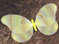 Motýl nylonový žlutý MAXI
