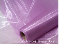 Organza fialová lila 1m...