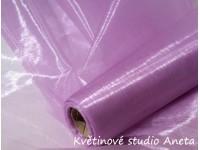 Organza 16cm fialová lila...