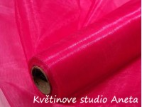 Organza 16cm růžová cyklamen...