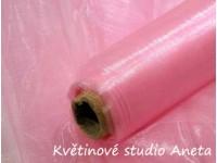 Organza 36cm růžová